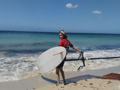 Clase privada de windsurf en Tarifa 1h 30min