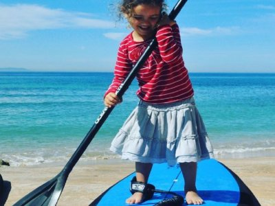 Clases de paddle surf privadas en Tarifa 1 hora