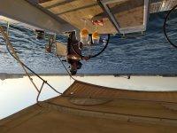 Giro in barca a vela al tramonto e cava a Torrevieja