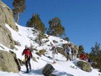 Tour raquetas de nieve Puerto de Navacerrada 5 h