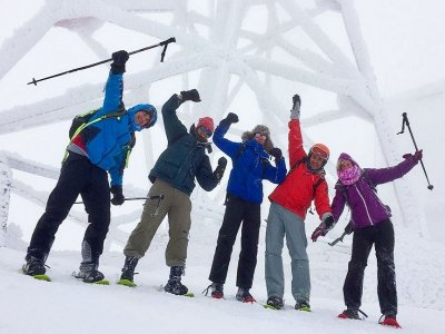 Subida con raquetas de nieve a Bola del Mundo 6 h