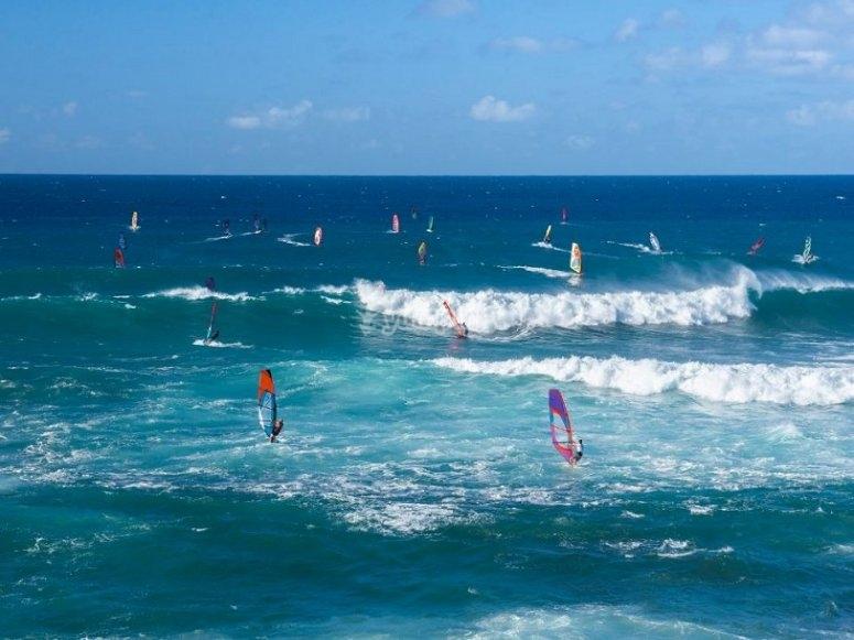 Fare windsurf a Malaga