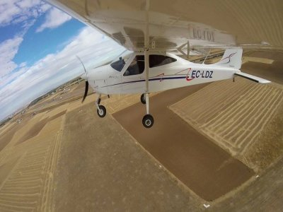 Ultralight flight and course with video in Toledo