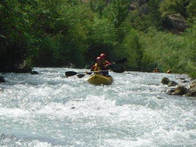 Ruta en kayak en el río Guadalope en Teruel 3 h