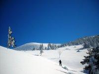 女子滑雪曼托