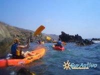 En kayak por el sur