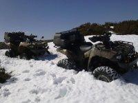 Excursiones en quad en la nieve