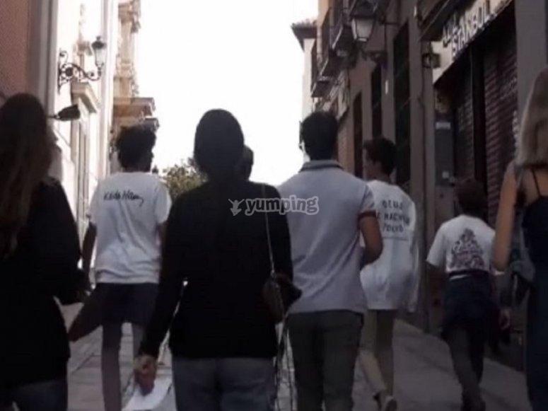 Caminando por Pamplona