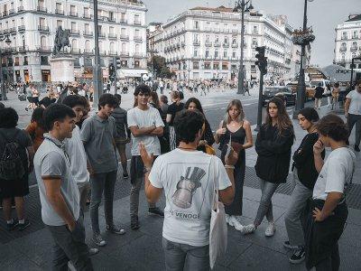 Juego de escape por Madrid centro para niños 90min