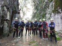 Canyoning nel Torrent de Coanegra