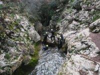 Nel letto del fiume a Maiorca