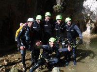 Gruppo di canyoning a Maiorca