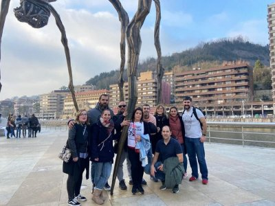 Fuga attraverso la città cattura il ladro Bilbao 90min