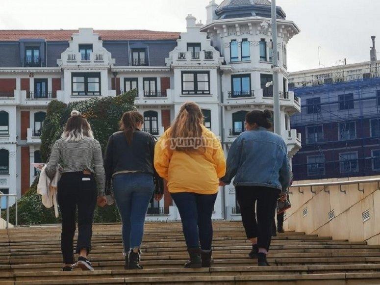 Por las calles de Bilbao
