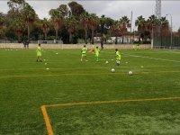 Futbol en el Campus del Real Betis