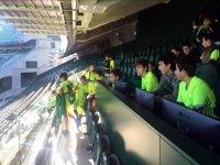 Visita al estadio del Betis