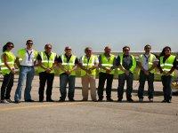 Human team at the aerodrome