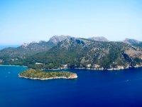 The Balearic coast