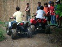 Piloting quads for kids