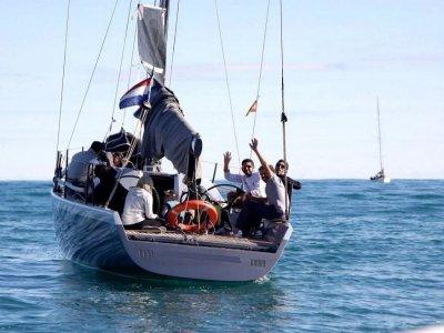 Curso de navegación en vela Valencia 1 día comida