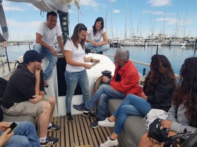 Paseo en vela y taller biodiversidad Valencia 8 h