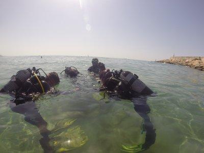 3月l'Ametlla的潜水洗礼,带照片3h