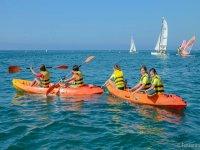 gruppo kayak