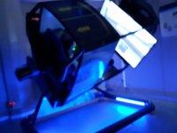 Simulatore di volo di caccia con 360º giri Madrid