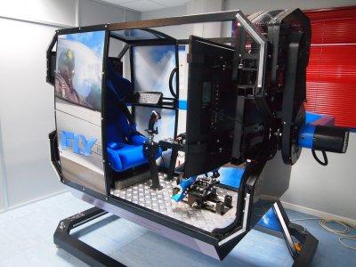 Boeing-737 flight simulator in Cuatro Vientos 1h