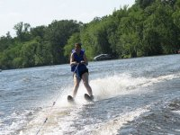 Imparare lo sci d'acqua