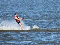 Studente di wakeboard