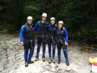 Canyoning and river descent