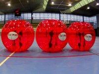 Burbujas de plastico rojas