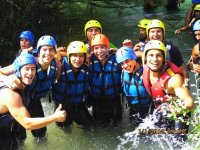 Rafting para team building