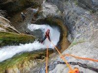 Sima del Diablo中的起始峡谷