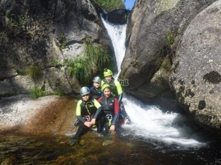 Happy with the adventure