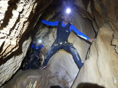 Caving with monitor Buraca das Choias 3 hours