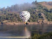 Paseo en globo viendo el amanecer por la Ribeira Sacra