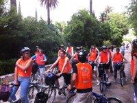 Montar en bicicleta en Sevilla