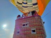 Paseo en globo aerostático por Ribiera Sacra