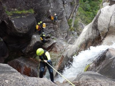 Canyoning in Corga da Fecha 5 hours