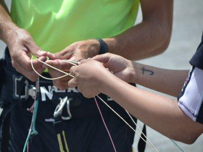 ElMédano的风筝冲浪课程为3天9小时