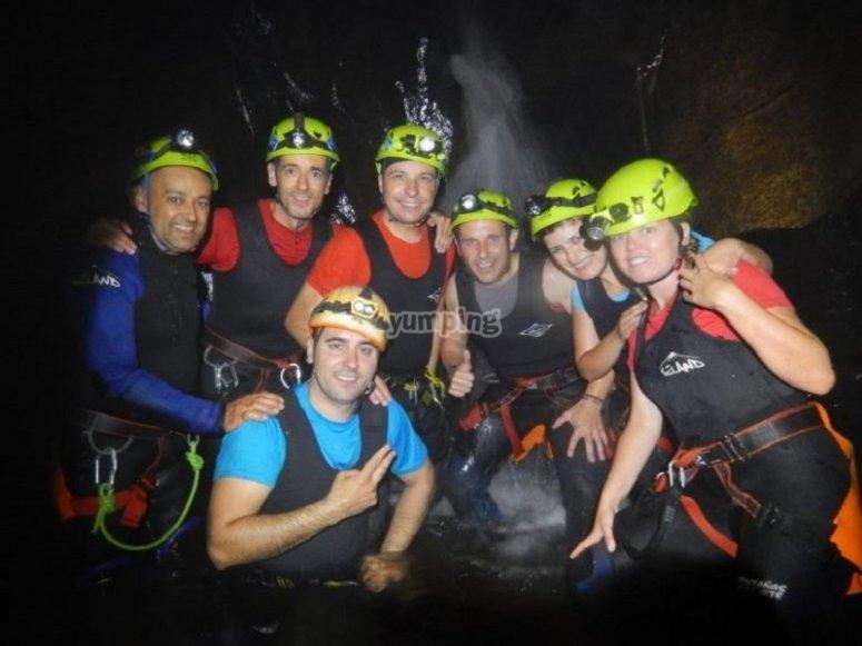The team of adventurers