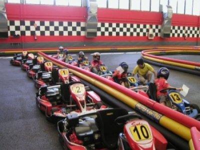 Karting Indoor Logroño Team Building