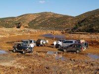 Rutas minas y el río Tinto