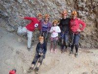 Fueara de la cueva inspeccionada