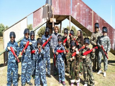 Paintball per bambini con 400 palline a Padul