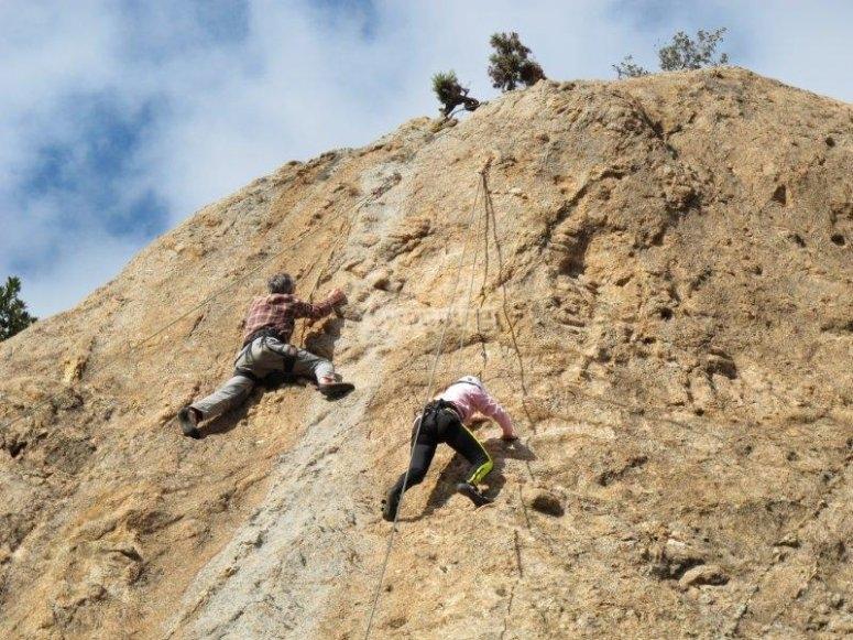 Seconda arrampicata a Montserrat