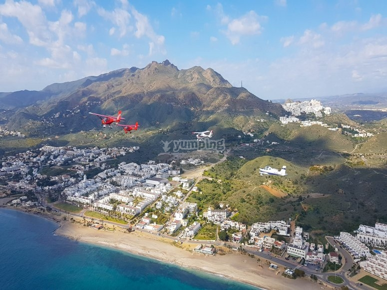Volar en ultraligero por Almería