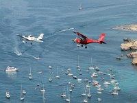 Aerei leggeri che sorvolano la Costa de Almeria